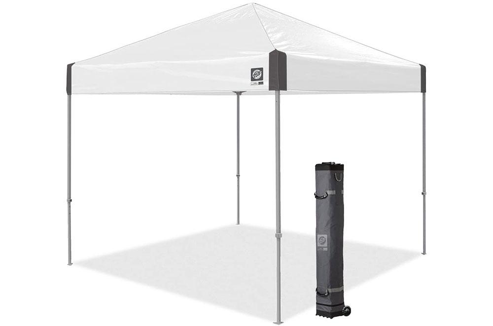 E-Z-UP-tent white